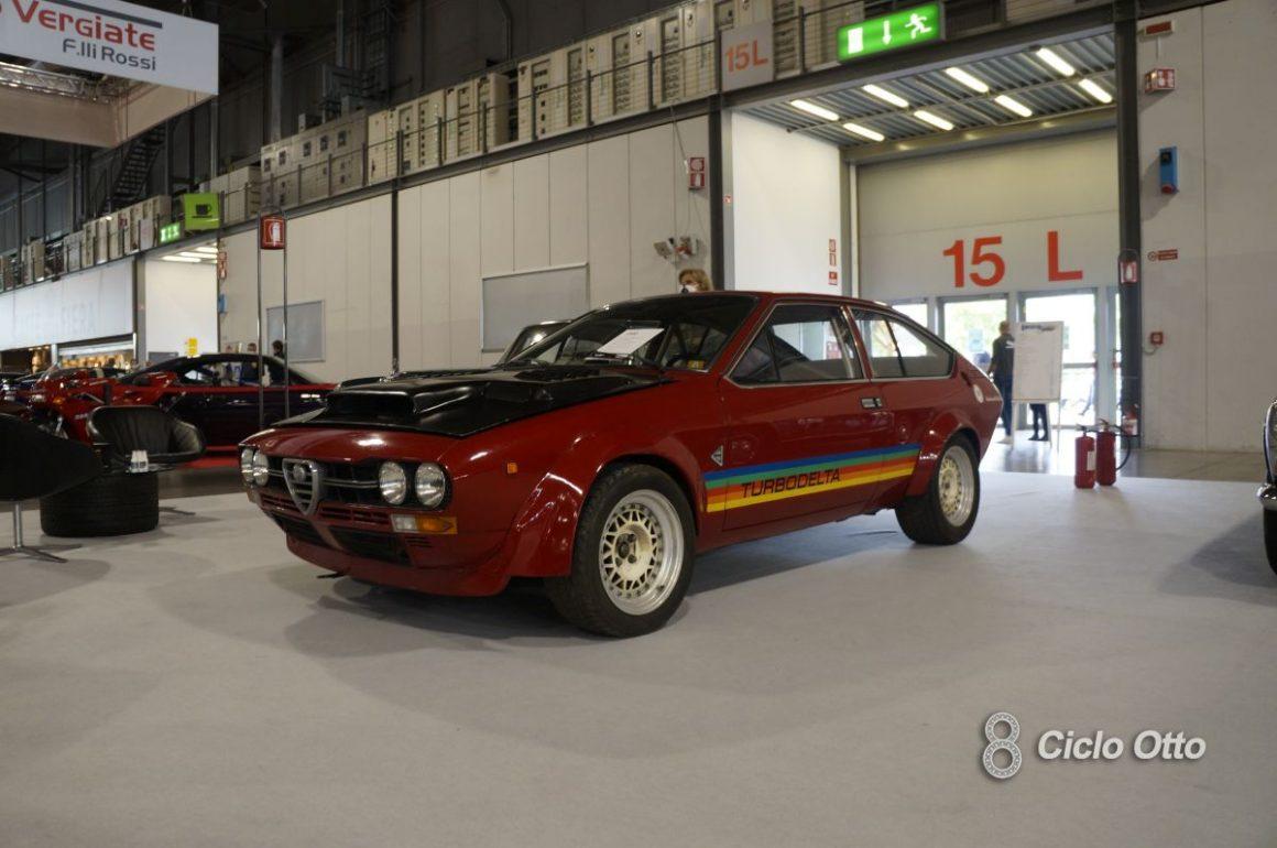 Alfa Romeo GTV Turbodelta - Milano Autoclassica 2021 - Immagine © Ciclootto.it