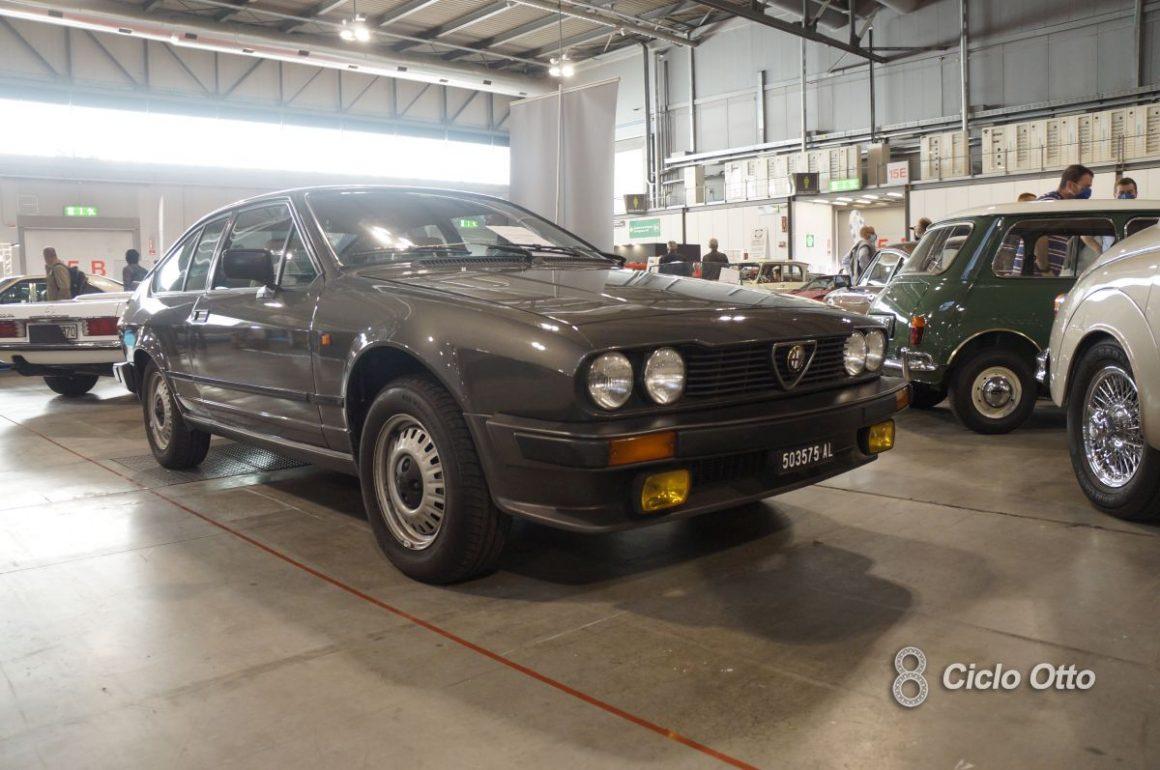 Alfa Romeo GTV 2.0 - Milano Autoclassica 2021 - Immagine © Ciclootto.it