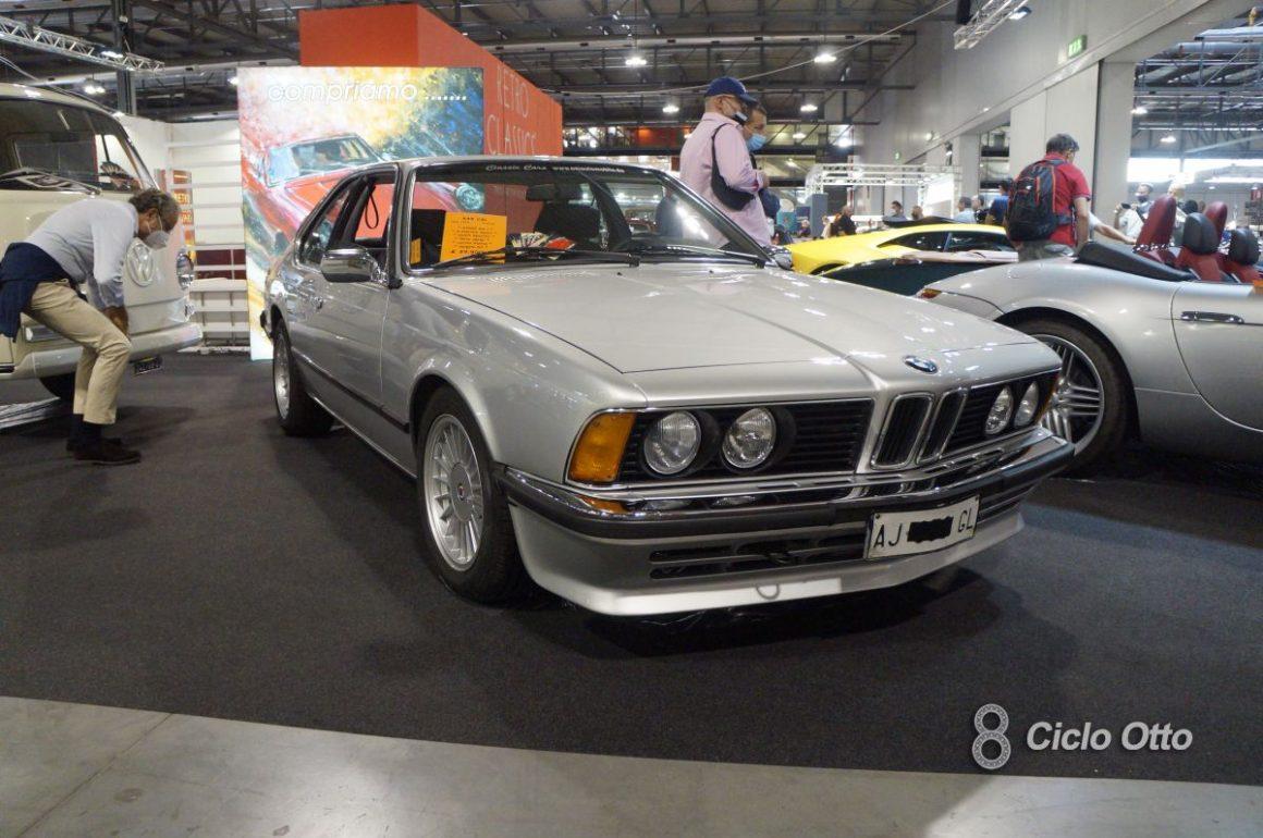 BMW 635CSi - Milano Autoclassica 2021 - Immagine © Ciclootto.it