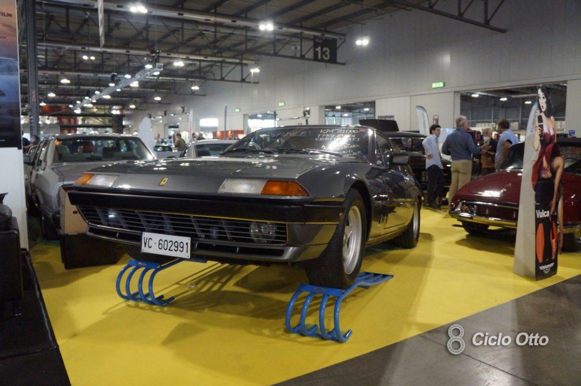 Ferrari 400i - Milano Autoclassica 2021 - Immagine © Ciclootto.it
