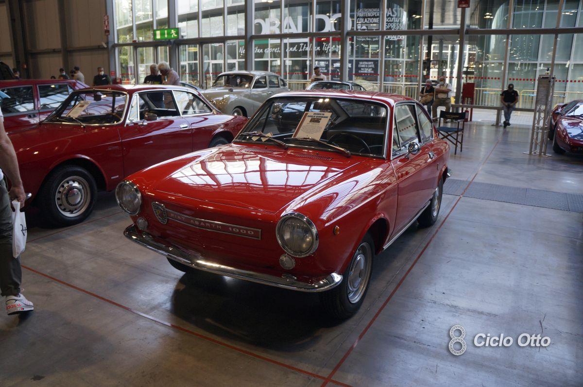 Fiat Abarth OT 1000 - Milano Autoclassica 2021 - Immagine © Ciclootto.it