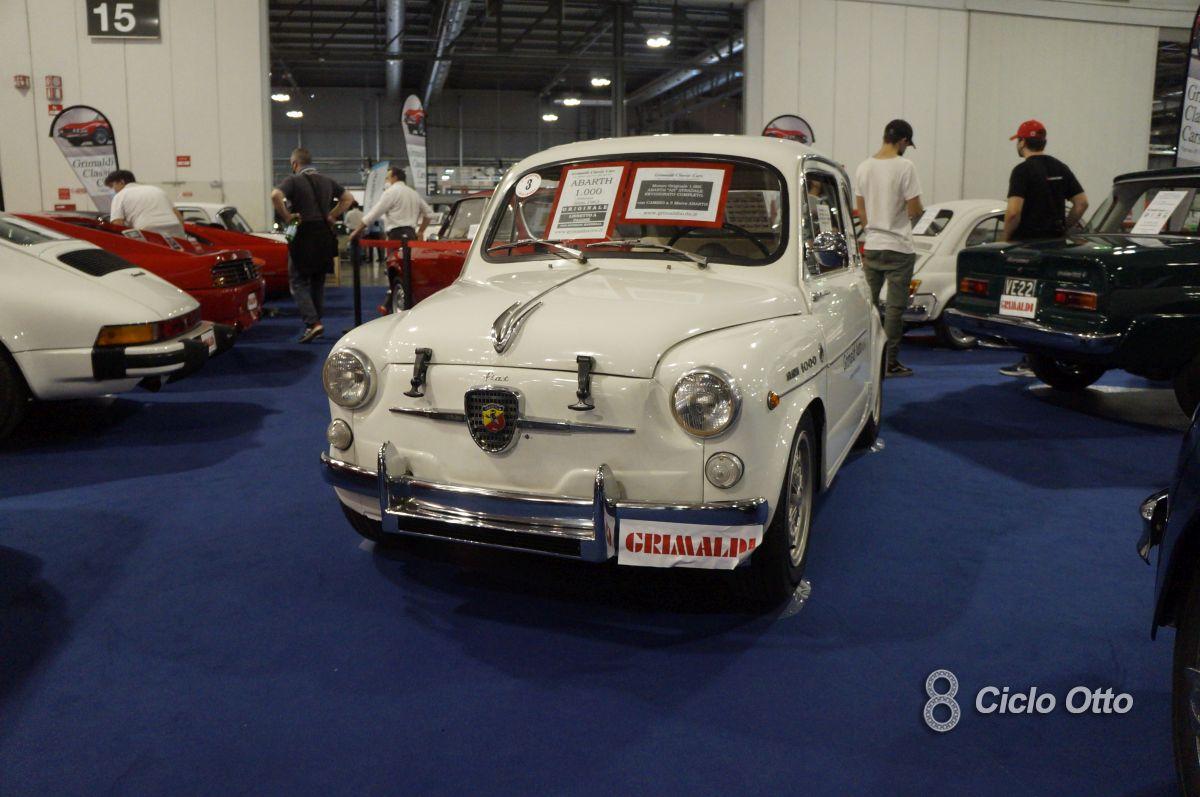 Fiat Abarth 1000 TC - Milano Autoclassica 2021 - Immagine © Ciclootto.it