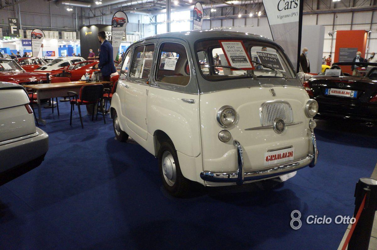 Fiat 600 Multipla - Milano Autoclassica 2021 - Immagine © Ciclootto.it