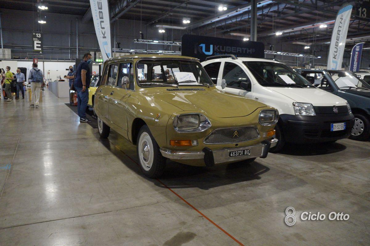 Citroën Ami 8 Break - Milano Autoclassica 2021 - Immagine © Ciclootto.it