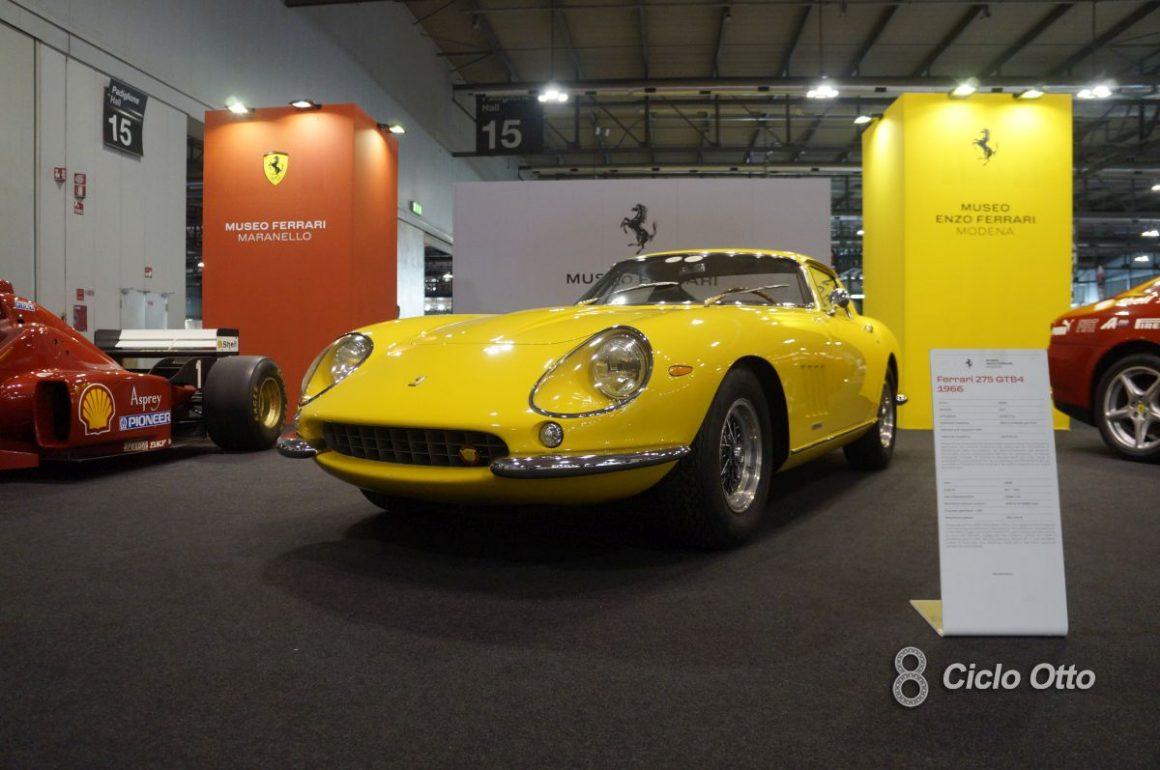 Ferrari 275 GTB4 - Milano Autoclassica 2021 - Immagine © Ciclootto.it