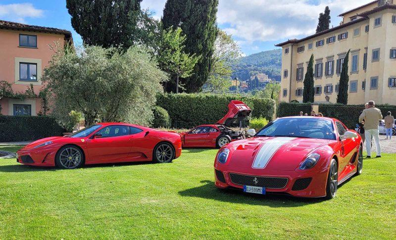 Esposizione Ferrari - Millennium - Villa La Massa