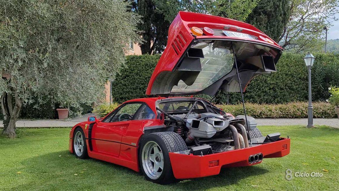 Ferrari F40 - Millennium - Villa La Massa