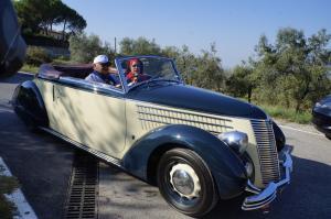 Lancia Aprilia Cabriolet 1938 - Strade bianche vino rosso